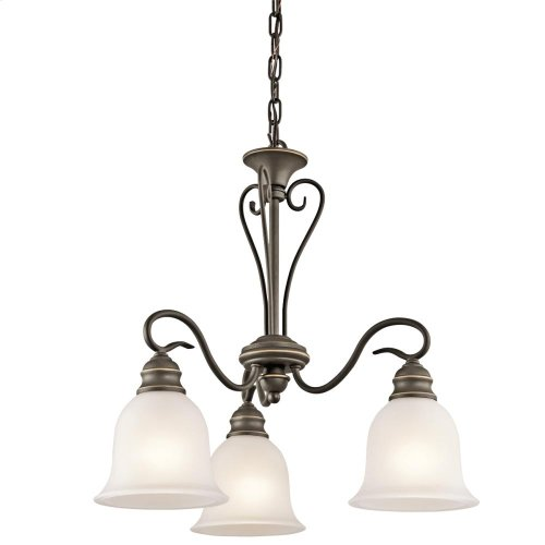Tanglewood Collection Chandelier 3Lt OZ