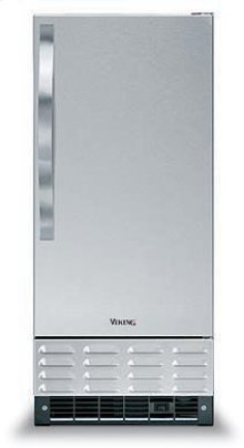 "White 15"" Undercounter/Freestanding Ice Machine - DUIM ((left hinge))"