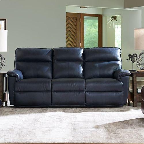 RED HOT BUY- BE HAPPY! Jay PowerRecline La-Z-Time® Full Reclining Sofa w/ Power Headrest