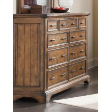 Elk Grove Rustic Nine-drawer Dresser