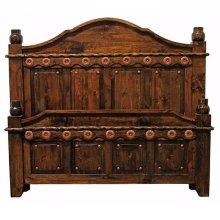 Medio Laquer Grande King Bed