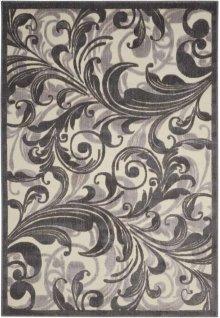 Graphic Illusions Gil01 Mtc Rectangle Rug 5'3'' X 7'5''