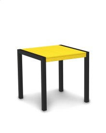 "Textured Black & Lemon MOD 30"" Dining Table"