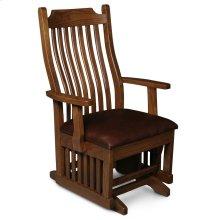 Urbandale Arm Glider, Fabric Cushion Seat