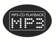 3 CD Changer with MP3-CD Playback