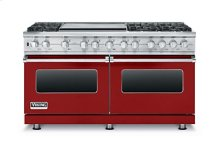 "60"" Custom Sealed Burner Dual Fuel Range, Natural Gas"