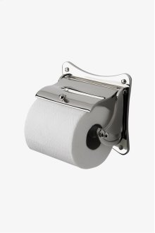 Etoile Wall Mounted Covered Paper Holder STYLE: ETPH47