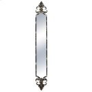 Distressed Black Wall Mirror Product Image
