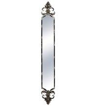 Distressed Black Wall Mirror