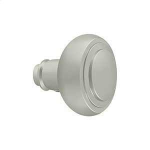 Accessory Knob for SDL688, Solid Brass - Brushed Nickel