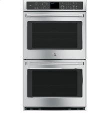 """CLOSEOUT - GE Cafe™ Series 30"""" Built-In Double Convection Wall Oven"""