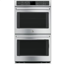 "FLOOR MODEL CLOSEOUT GE Cafe™ Series 30"" Built-In Double Convection Wall Oven"