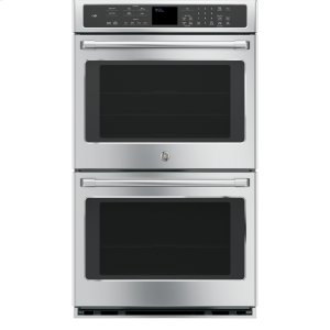 "GE Cafe30"" Built-In Double Convection Wall Oven"