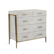 Morand 5 Drawer Chest - Grey