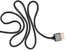 6.6' Super Slim HDMI Cable; Short connector and flexible design