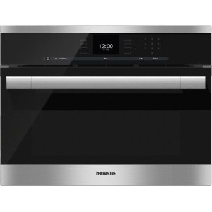 MieleDGC 6500-1 Steam oven with full-fledged oven function and XL cavity combines two cooking techniques - steam and convection.