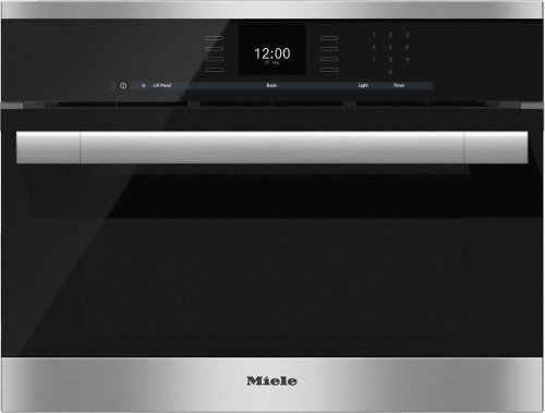 DGC 6500-1 Steam oven with full-fledged oven function and XL cavity combines two cooking techniques - steam and convection.