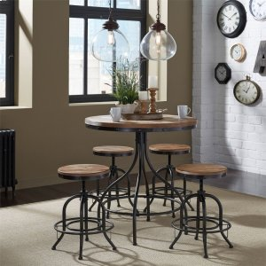 Liberty Furniture Industries5 Piece Pub Table Set