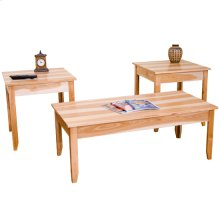 Green Home 3 pc Occasional Table Set