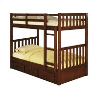 Mission Twin/Twin Bunk Merlot Product Image