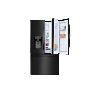 28 cu.ft. Smart wi-fi Enabled Door-in-Door® Refrigerator - MATTE BLACK STAINLESS STEEL