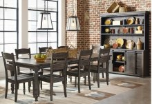 Madison County Ladderback Dining Chair (2/ctn) - Barnwood