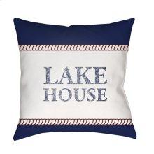 "Lake House LAKE-006 20"" x 20"""