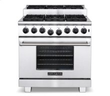 "36"" Titan Step-up Gas Range"