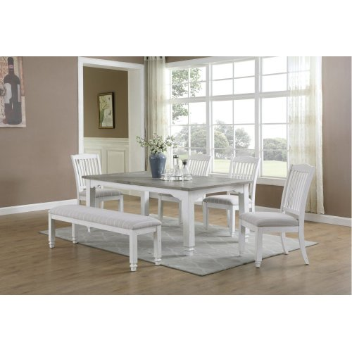 Emerald Home Bench Antique White Rtgd727-36