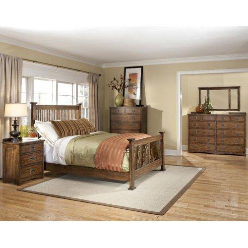 King Panel Bed, Standard