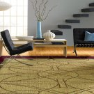 Garnet Stained Glass Rectangle Rug (8' X 11') Product Image