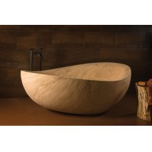 Papillon Bathtub Sandstone