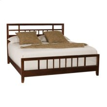Tribecca Slat Cal. King Bed Complete