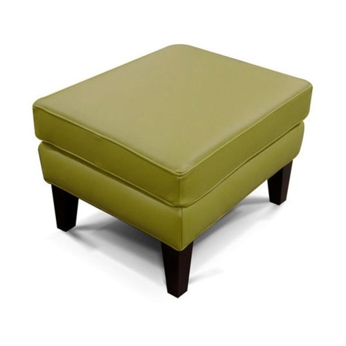 Leather Luther Ottoman 4537AL