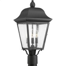 Kiawah Collection Three-Light Post Lantern