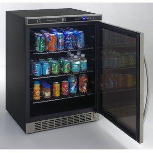 AvantiBeverage Cooler with Glass Door