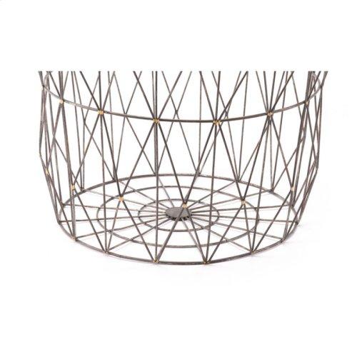 Set Of 3 Basket Antique