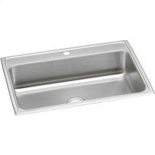 """Elkay Celebrity Stainless Steel 31"""" x 22"""" x 7-1/8"""", Single Bowl Drop-in Sink"""