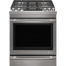 "Jenn-Air® 30"" Gas Range, Euro-Style Stainless Handle"
