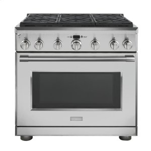 "MonogramMonogram 36"" Dual-Fuel Professional Range with 6 Burners (Natural Gas) - AVAILABLE EARLY 2020"