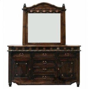 "Dresser : 71"" x 19"" x 41"" Medio Lacquer Grande Dresser"