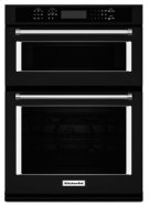 "30"" Combination Wall Oven with Even-Heat™ True Convection (Lower Oven) - Black Product Image"