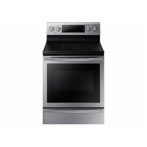 Samsung5.9 cu. ft. Electric Range with True Convection and Soft Close Door