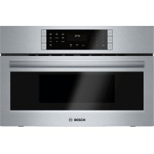 Benchmark® built-in oven with microwave-function 30'' Stainless steel