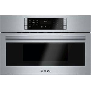 Bosch BenchmarkBENCHMARK SERIESBenchmark® built-in oven with microwave-function 30'' Stainless steel
