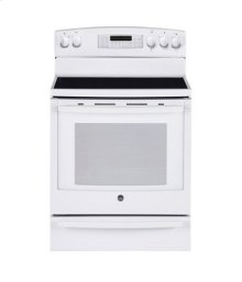 """30"""" Free Standing Electric Self-Clean Convection Range with Baking Drawer"""