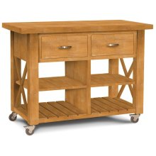 X-Side Kitchen Island