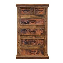 Chest W/Copper Panels