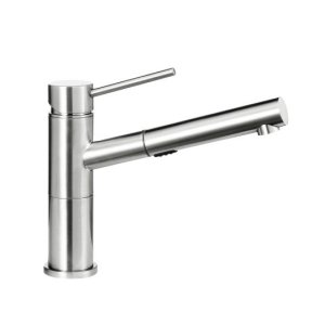 Blanco Alta Compact Pull-out Dual 1.8 - Polished Chrome