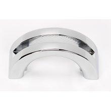 Slit Top Pull A421 - Polished Chrome